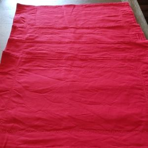 Other - Set of Four Red Placemats